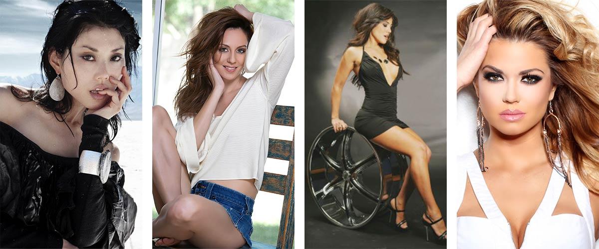 All female Vegas models
