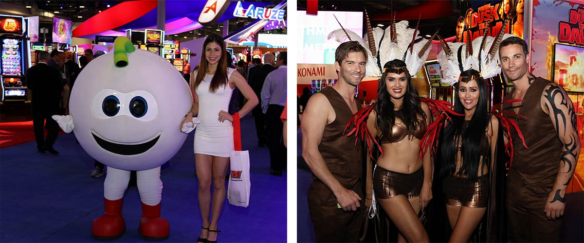 Convention Talent in trade show Las Vegas